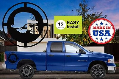Metal Mulisha Skull Truck Bed Decals Kit F F Ram Silverado - F250 decalsmulisha skullxwindow bed decal decals f f ram