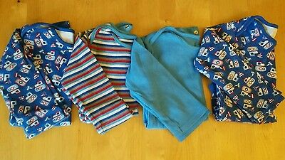 Baby boy long sleeved bodysuits 18 - 24 months