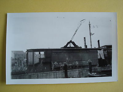 Real Photograph of GLASGOW Works Tramcar at Coplawhill Depot
