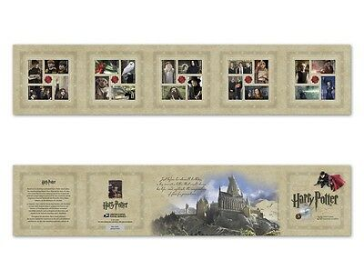 2013 Harry Potter Souvenir Booklet of 20 US Forever Postage Stamps