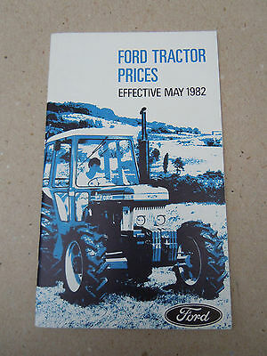 @Vintage Ford Tractor Prices Booklet Effective May 1982 @