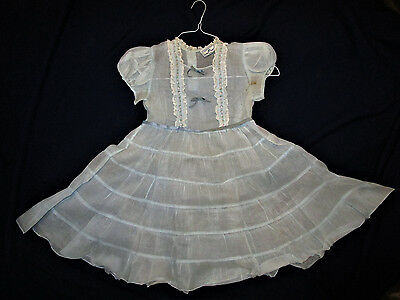 Vintage, Authentic Shirley Temple Dress, By Cinderella, Very Rare Find!
