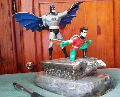 Batman and Robin Limited Edition 500 Ron Lee Marble base statue 1995 Statue