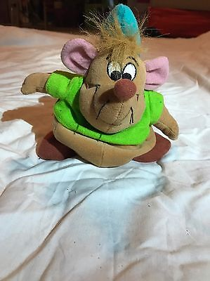 Cinderella Mouse Character Gus Plush (Soft) Toy