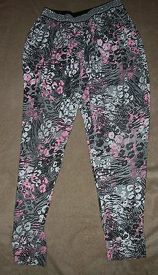 George Girls Patterned Harem Trousers Age 9-10 Years