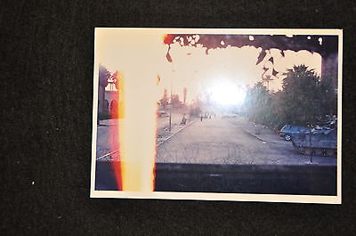 EARLY OPERATION IRAQI FREEDOM 1st ARMORED DIVISION PHOTO - STREET VIEW