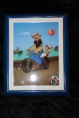 Popeye and Sweet Pea Metal Picture