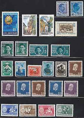 ROMANIA: Small collection including Mamaia 1943, on 3 scans