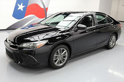 2016 Toyota Camry  2016 TOYOTA CAMRY SE REAR CAM CRUISE CTRL ALLOYS 14K MI #542681 Texas Direct