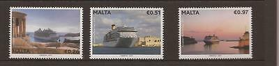 Malta 2013 Criuse Liners Mnh Set Of Stamps