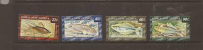Papua New Guinea 1993 Fish Mnh Set Of Stamps