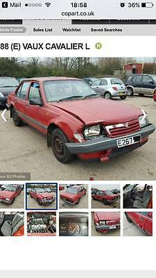 Mk2 Vauxhall Cavalier Breaking For Spares All Parts Will Be Put On Buy It Now