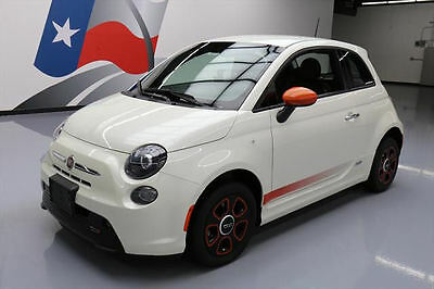 2014 Fiat 500 E Hatchback 2-Door 2014 FIAT 500E ELECTRIC AUTOMATIC HEATED SEATS 8K MILES #172918 Texas Direct