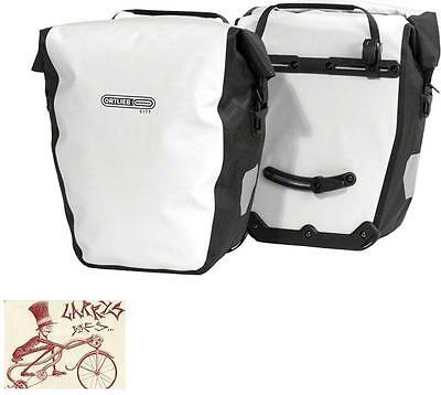 Ortlieb Back-Roller City Rear White/black Double Pannier