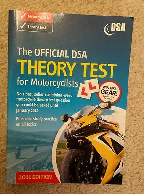 2011 Motorcycle DSA theory test book