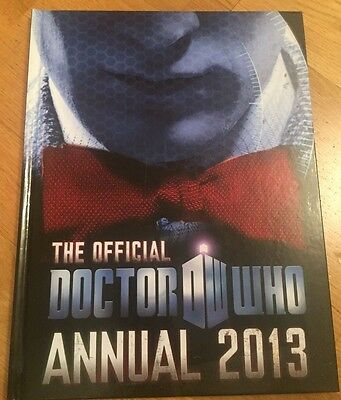 Doctor Who: Official Annual: 2013 by BBC Children's Books (Hardback, 2012)