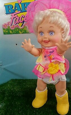 Galoob Baby Face Doll  So Delightful Dee Dee