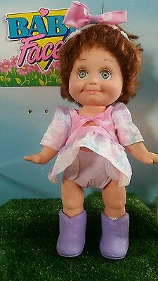 Galoob Baby Face Doll  So Shy Sherri