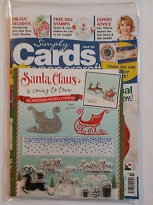 Simply Cards & Papercraft Magazine Issue 155 + FREE Gifts