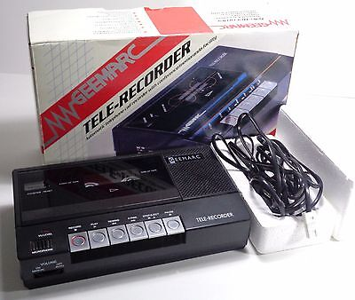 Geemarc Tele-Recorder Answer Machine Boxed Very Good Condition