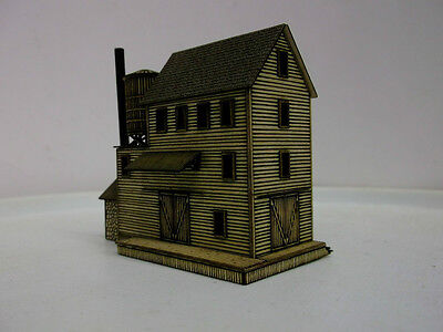 Z Scale Candle Factory Laser Cut Fully Assembled