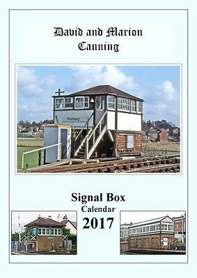 2017 Railway Calendar Br Signal Boxes - Signed & Numbered