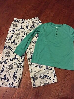 NWT Boys' Pajama Set From Carters And Gap Kids, Size 6