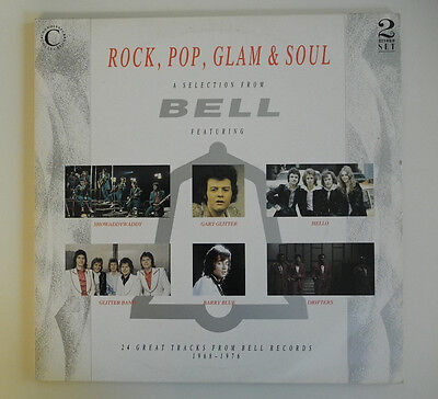 2 xLP UK**VAROUS - ROCK, POP, GLAM & SOUL -A SELECTION FROM BELL RECORDS***13171