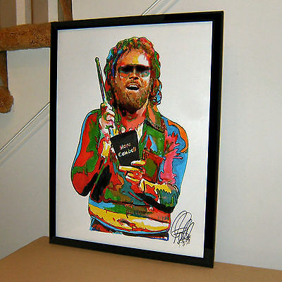 Gene Frenkle, Will Ferrell. More Cowbell, Blue Oyster Cult, 18x24 POSTER w/COA