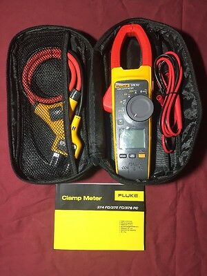 Fluke connect 376FC True Rms Ac/dc Clamp Meter With Iflex