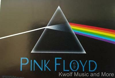 """PINK FLOYD Flag/ Tapestry/ Fabric Poster """"Dark Side Of The Moon""""  NEW"""