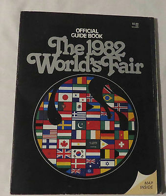 The 1982 World's Fair - Official Guide Book - Map