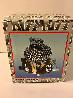 Kiss Trinket Box 1998 Vandor MIB Gene Simmons Ace Frehley