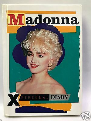 Madonna Personal Diary 1987 Made In England Culture Shock No Writing Photo Book