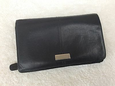 Ladies Oroton Black Leather Purse / Wallet