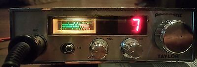 Vintage President Taylor CB Radio with President Microphone