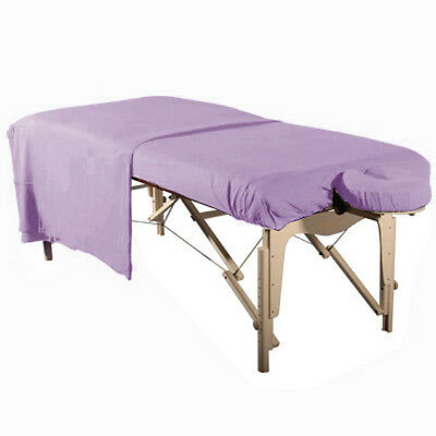 NEW MASSAGE TABLE DLX BRUSHED FLANNEL 3pc SHEET SET-FITTED, FLAT & FACE COVER -P