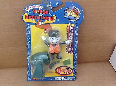 2000 Justoys Rocky and Bullwinkle Micro Bend-ems Boris