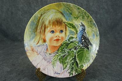 Edwin Knowles Discovery Collectors Plate By Frances Hook C. 1986 COA