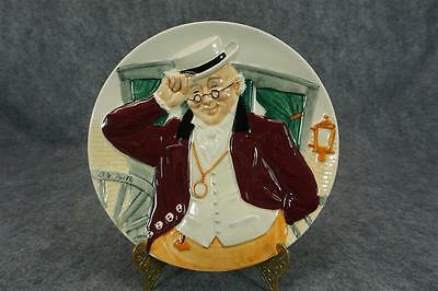 Davenport Pottery Co. Mr. Pickwick Collectors Plate By Douglas V Tootle C. 1986