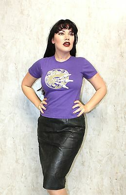 VINTAGE BIG DAY OUT Purple T shirt 90s Grunge Rave Concert Tour Band Small