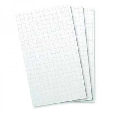 FLIP NOTES REFILL Graph PAPER Office DESK Purse Note Pad 3 Pack (50 SHEETS each)