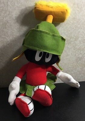 """Marvin the Martian Plush Doll 20"""" Warner Brothers 1997"""
