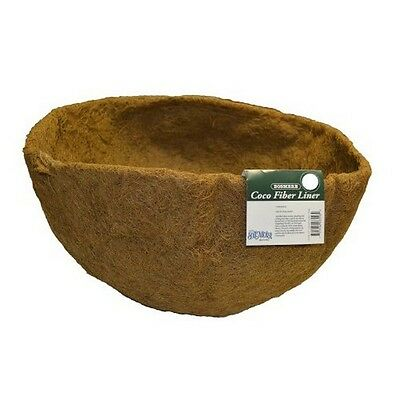 Bosmere F558 24 Inch Round Replacement Coco Liner With Soil Moist Mat Brown NEW