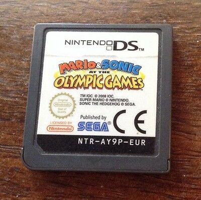 Nintendo DS game Mario & Sonic Olympic Games *used, no cover..