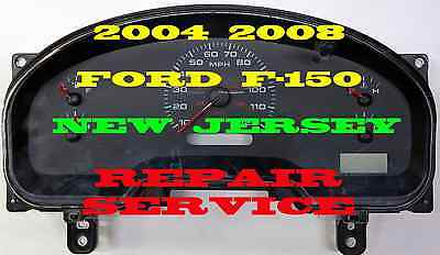 04 05 06 07 Ford Truck Speedometer Dash Cluster Gauges Repair Any Part Number