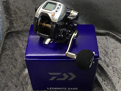 NEW DAIWA LEOBRITZ S400 Right Handed Electric Reel  EMS FREE/SHIPPING JAPAN