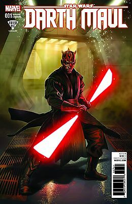Star Wars Darth Maul 1 (Of 5) Fried Pie Ashley Witter Variant Nm