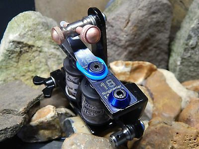 Custom Tattoo Machine Paul Rogers Style Colour Packer -Used Spare Parts-Frame-