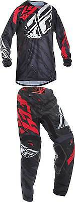 2017 Fly Racing Youth Kinetic Relapse Jersey Pant Combo - MX ATV Motocross Gear